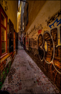Graffitio stræde
