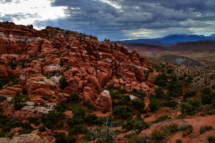 USA - Utah Arches National Park. Fiery Furnace Viewpoint.21/7-2016 kl. 8.29