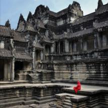 Cambodia - Siem ReapAnkor Wat. 1000 Buddhas Gallery.31/1-2019 kl. 11.01